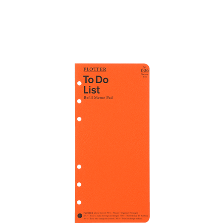 thumbnail: リフィルメモパッド<br>ToDoリスト50枚